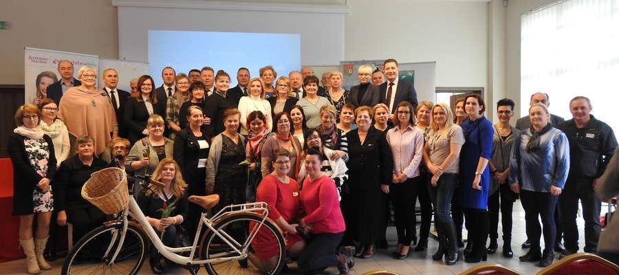Nasze sołtyski podczas konferencji w ubiegłym roku