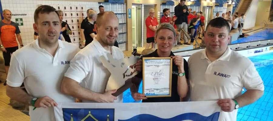 Iławskie Smoki Jezioraka na zawodach w Borken