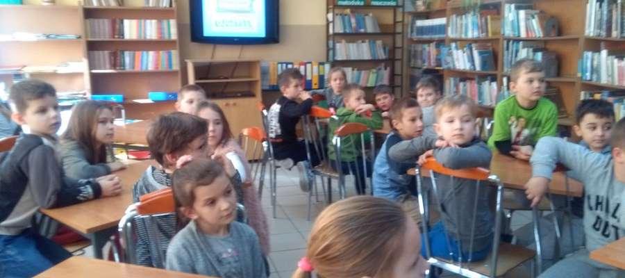 Uczniowie chętnie uczestniczyli w zajęciach