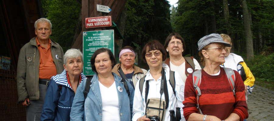 Nauczyciele na wycieczce w Karkonoszach