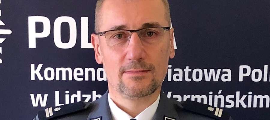Podinspektor Piotr Koszczał