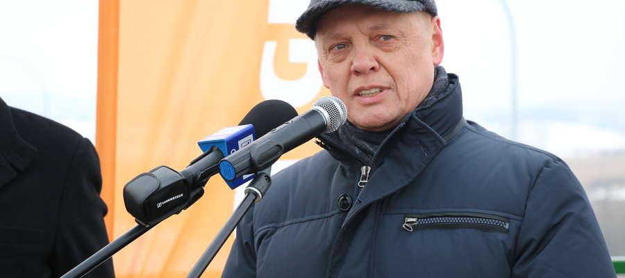 Otwarcie wschodniej części obwodnicy Olsztyna Mirosław Nicewicz