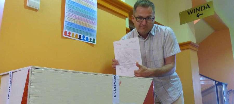 Piotr Ambroziak w iławskim ratuszu pracował z przerwami od 2005 roku