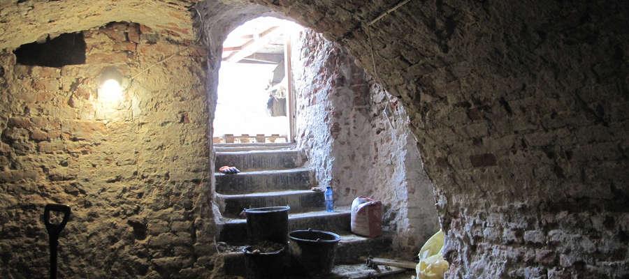 W piwnicach ratusza w Górowie Iławeckim.