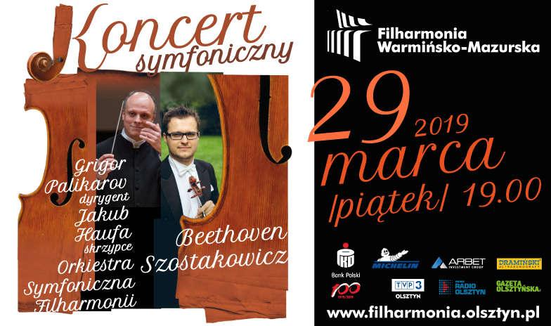 Koncert symfoniczny 29 marca - full image