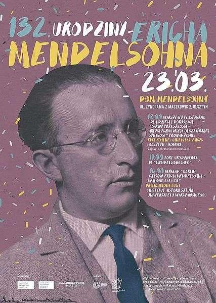 W Olsztynie uczczą urodziny Mendelsohna - full image