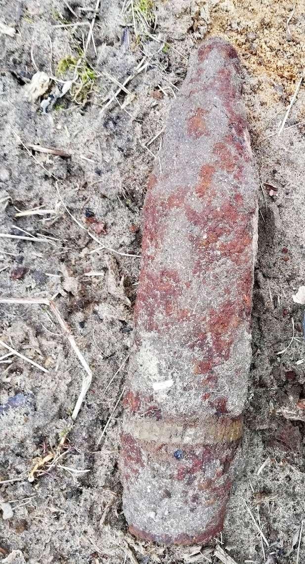Niewybuch znaleziony pod Krosnem