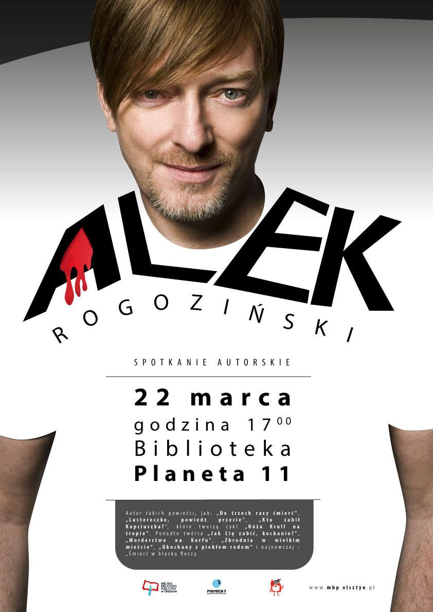 Alek Rogoziński w Planecie 11  - full image