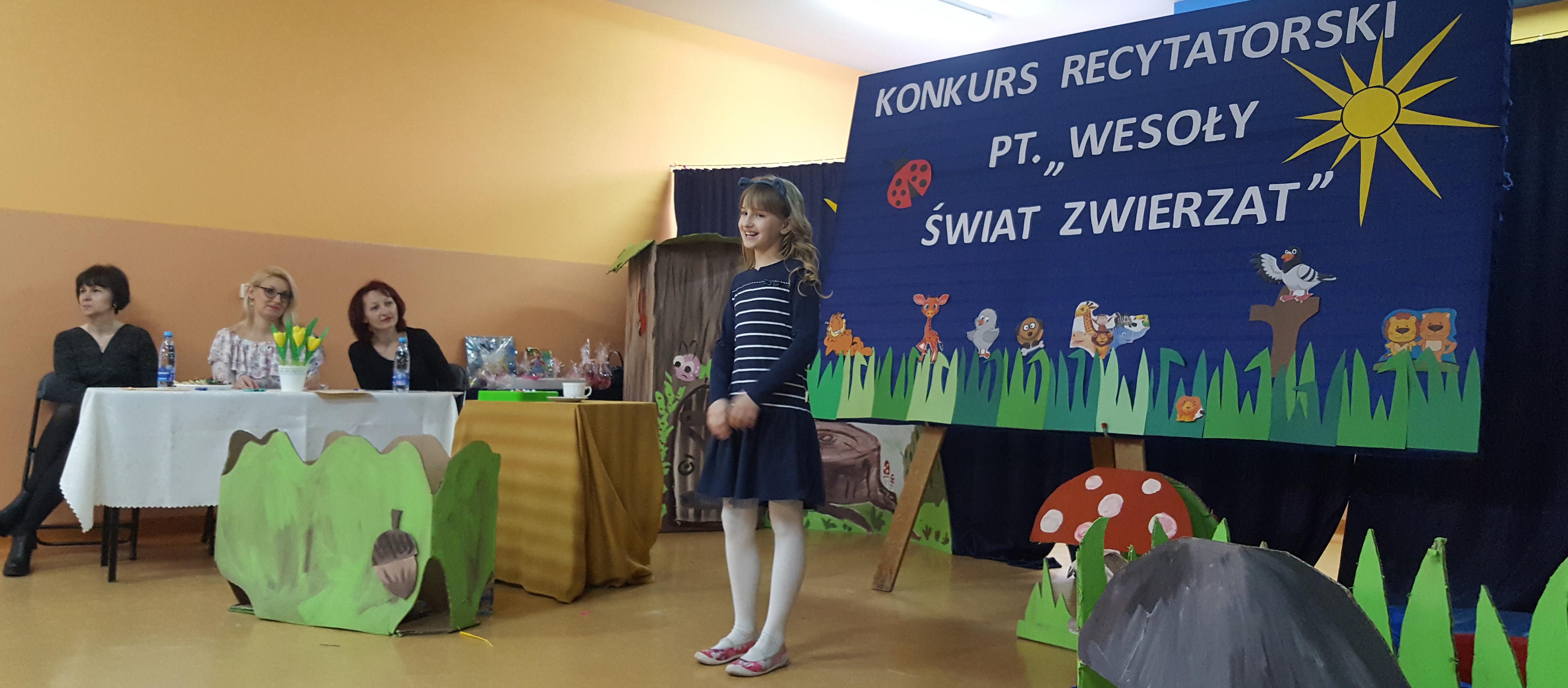 Wesoły świat Zwierząt Konkurs Recytatorski Dla Uczniów