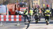 Rozszczelnienie sieci gazowej na ul. Jagiellończyka w Olsztynie. Ruch został wstrzymany [ZDJĘCIA, AKTUALIZACJA]