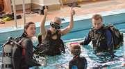 Babskie nurkowanie z okazji Dnia Kobiet