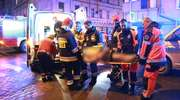 Tragiczny pożar w Olsztynie. Strażacy walczyli o życie mieszkańca [AKTUALIZACJA, ZDJĘCIA, VIDEO]