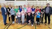 Powiatowy turniej badmintona w Płośnicy