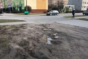 Dziury na ulicy Sosnowej w Przasnyszu będą załatane