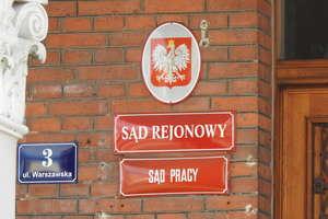 Sędzia i jego żona zakażeni. W kwarantannie jeszcze 12 innych osób pracujących w sądzie w Bartoszycach