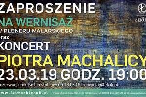 IV Plener Malarski w Łękuku Małym i koncert Piotra Machalicy