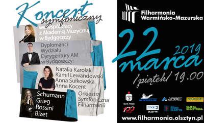 Koncert symfoniczny we współpracy z Akademią Muzyczna w Bydgoszczy