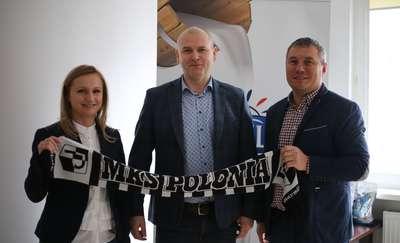 Polmlek głównym sponsorem MKS Polonii Lidzbark Warmiński