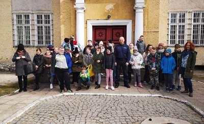 Dzień otwarty w Komendzie Powiatowej Policji w Olecku.