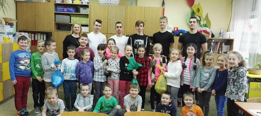 Uczniowie z SP7 wzięli udział w warsztatach ekologicznych
