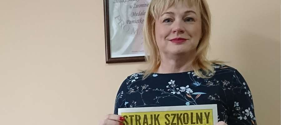 Prezes Marzena Więckowska zauważa dużą determinację środowiska
