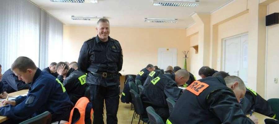 Mariusz Czajkowski przez wiele lat kierował reszelską jednostką OSP