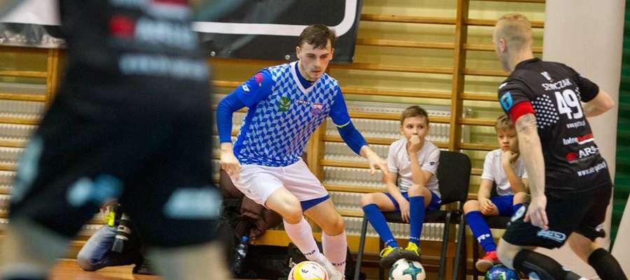 Piłkarze Constractu pokazali bardzo dobry futsal, nie popisali się jednak skutecznością