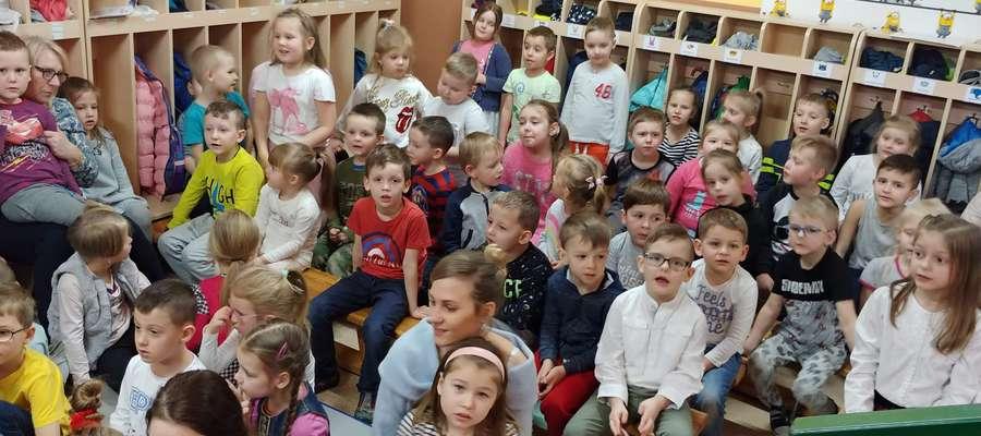Przedszkolaki miały Dzień Poezji