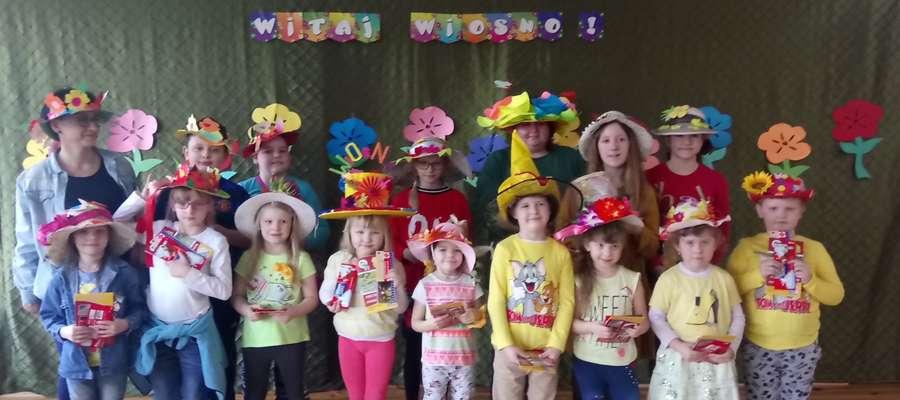 Wiosenne akcenty w szkole w Boleszynie