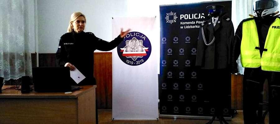 Dzień Przedsiębiorczości z lidzbarskimi policjantami