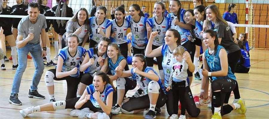 Na turniej półfinałowy MP kadetki SMS Ostróda pojadą do Poznania