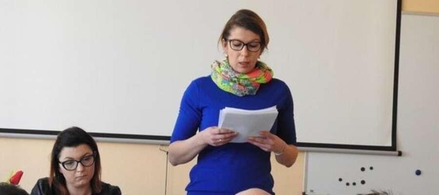 Alicja Hołubowicz przewodnicząca rady gminy Kozłowo