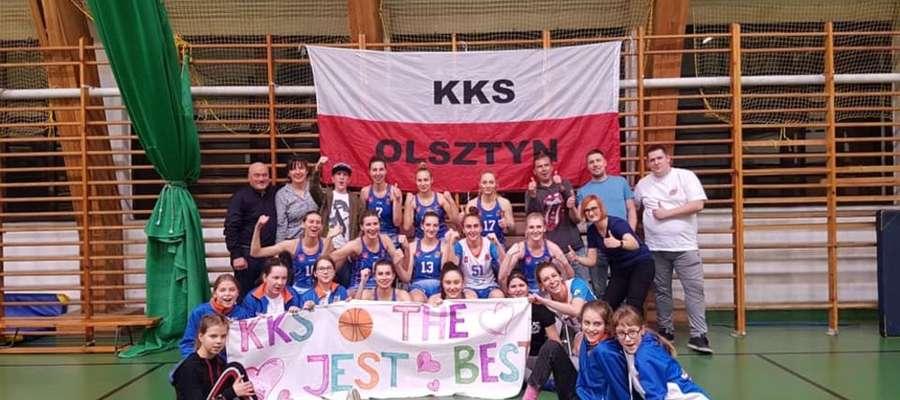 Koszykarski Klub Sportowy Olszyn, prawie w komplecie
