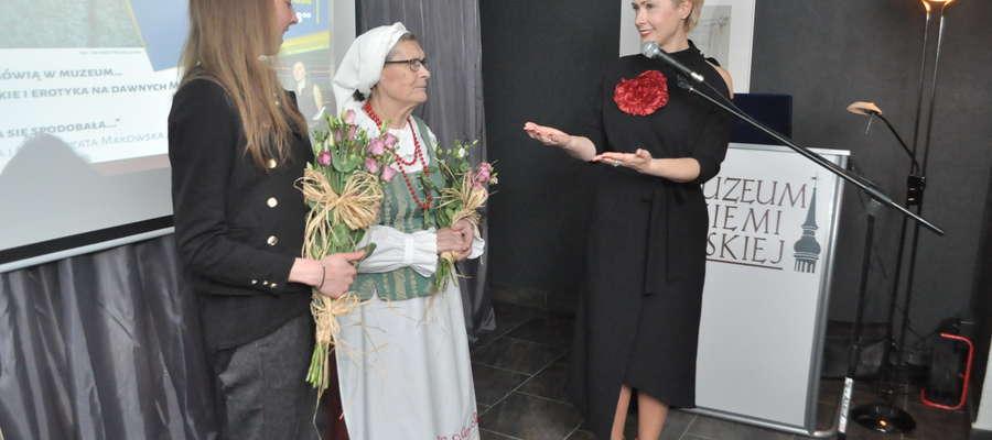 Na zdjęciu od lewej Małgorzata Makowska, Helena Napierała i dr Aneta Agnieszka Karwowska