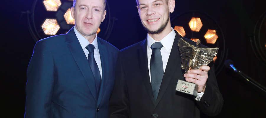 Jerzy Litwiński (OSiR) i Bartosz Zabłotny, prezes Egidy