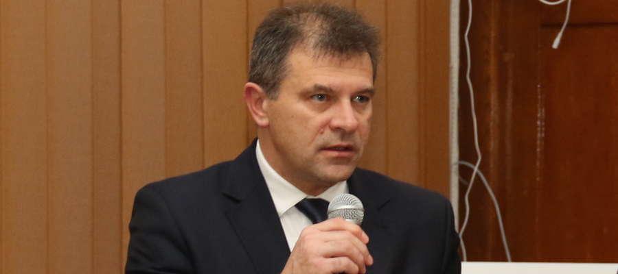 Cezary Piórkowski w ubiegłej kadencji samorządu był przewodniczącym Rady Miejskiej w Giżycku