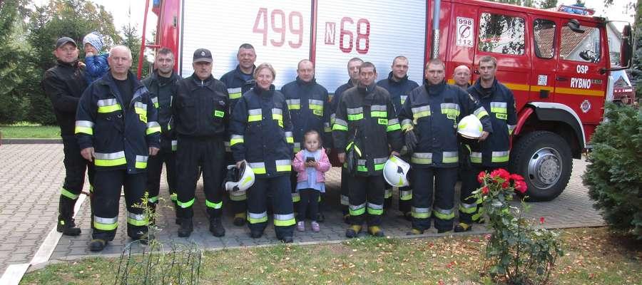 Strażacy z Rybna spieszą z pomocą w każdej sytuacji
