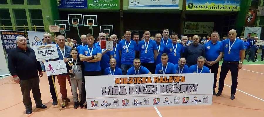 Puchar Ligi wygrał zespół Agro Partner Old Boys