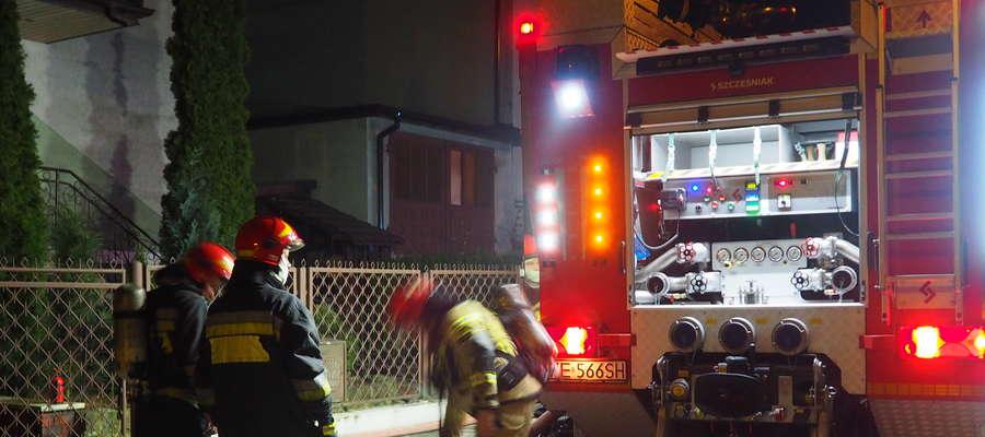 W akcji brało udział 6 jednostek straży pożarnej