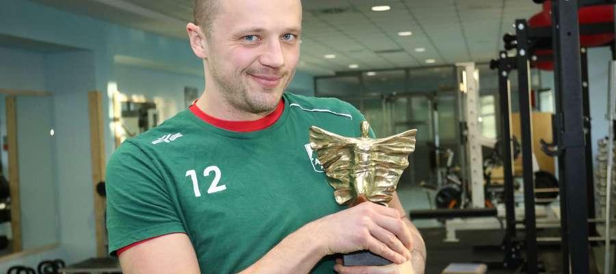 Paweł Woicki, laureat 58. Plebiscytu na 10 Najpopularniejszych Sportowców Województwa
