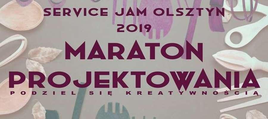 Plakat olsztyńskiego GSJ