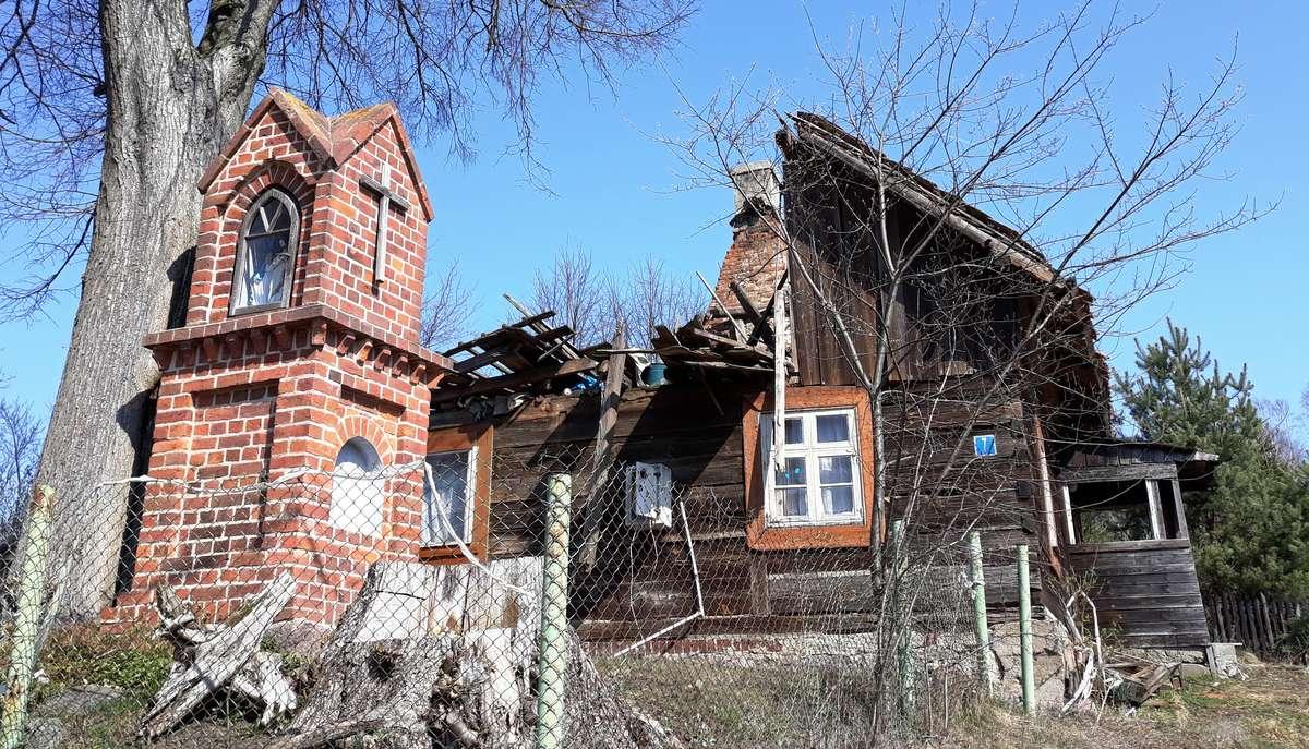 Nowa Kaletka, droga nad jezioro Gim - full image