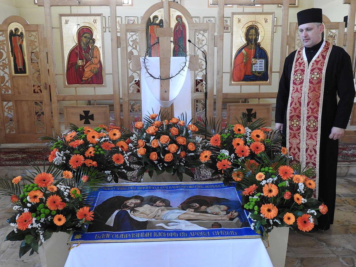 Wielkanoc w Parafii Greckokatolickiej w Lidzbarku Warmińskim  - full image