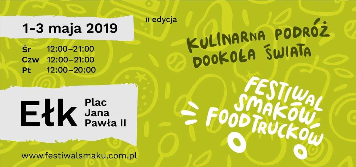 II Festiwal Smaków Foodtrucków w Ełku - full image