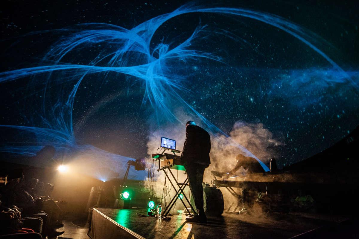 Koncert w Planetarium