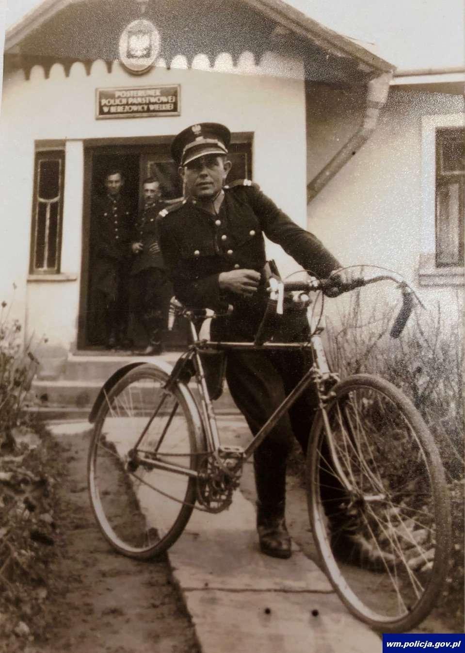 Aspirant policji Józef Mordal
