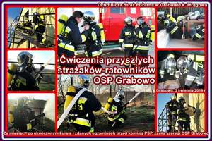 Doceń ofiarną pracę strażaków
