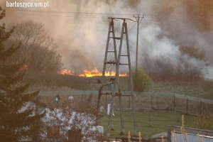Strażacki tydzień. Wypalanie traw ogromnym zagrożeniem dla lasów