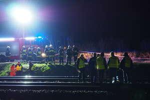 Młody mężczyzna zginął pod kołami pociągu