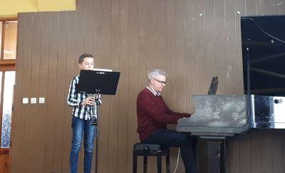 Koncerty przedrekrutacyjne nowomiejskiej Szkoły Muzycznej